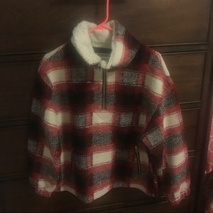 Forever 21 Buffalo Check Plaid Pullover